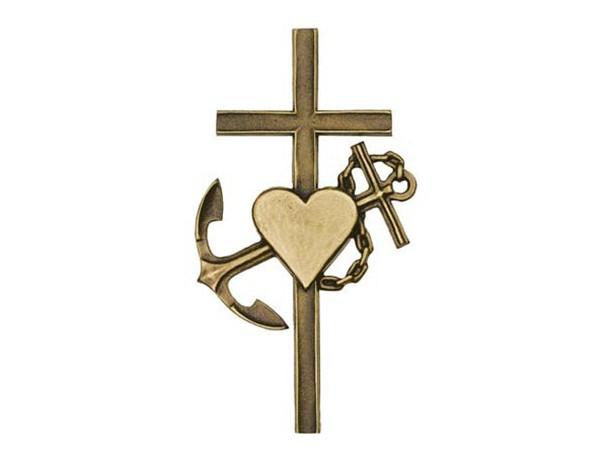 Bronzen geloof, hoop en liefde