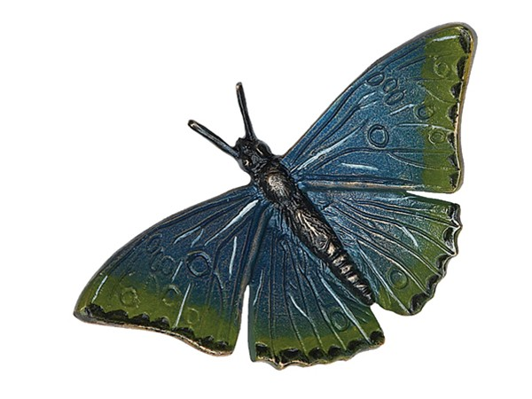 Bronzen groene vlinder