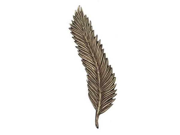 Bronzen palmen tak