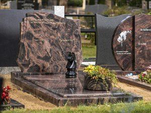 Granieten grafstenen - Steenhouwerij Rijtink Veenendaal