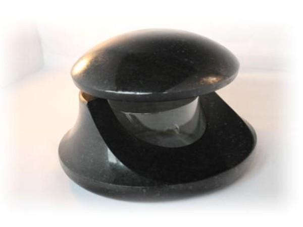 Granieten lantaarn geschikt voor waxine licht