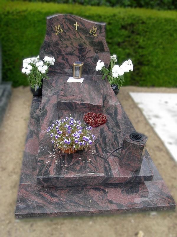 Katholieke grafsteen
