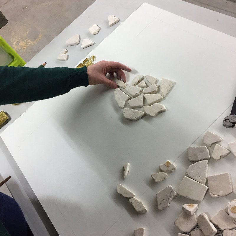 stukjes-natuursteen